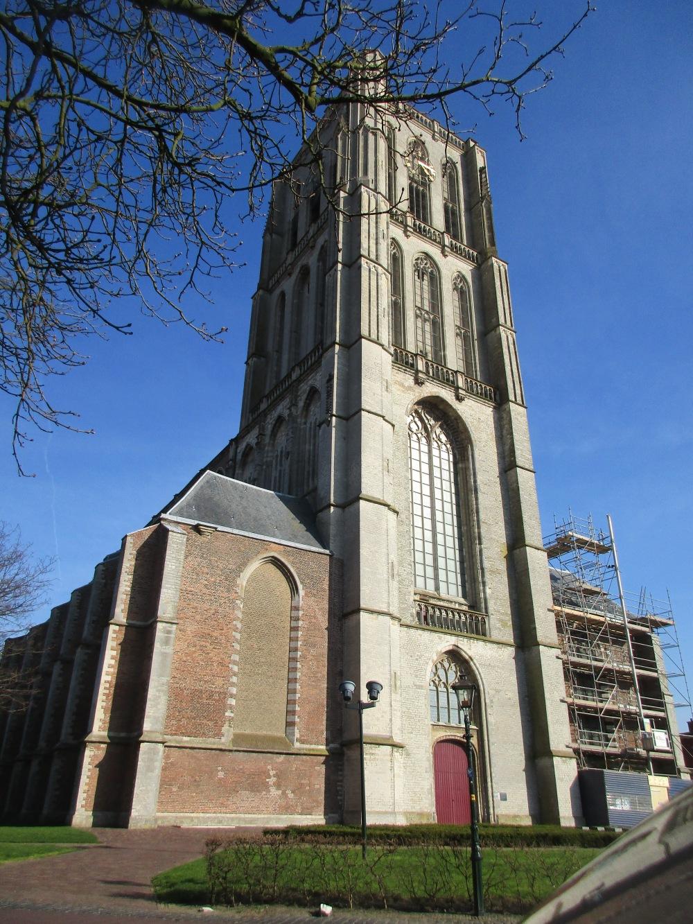 Sint-Catharijnekerk, noordzijde 1.