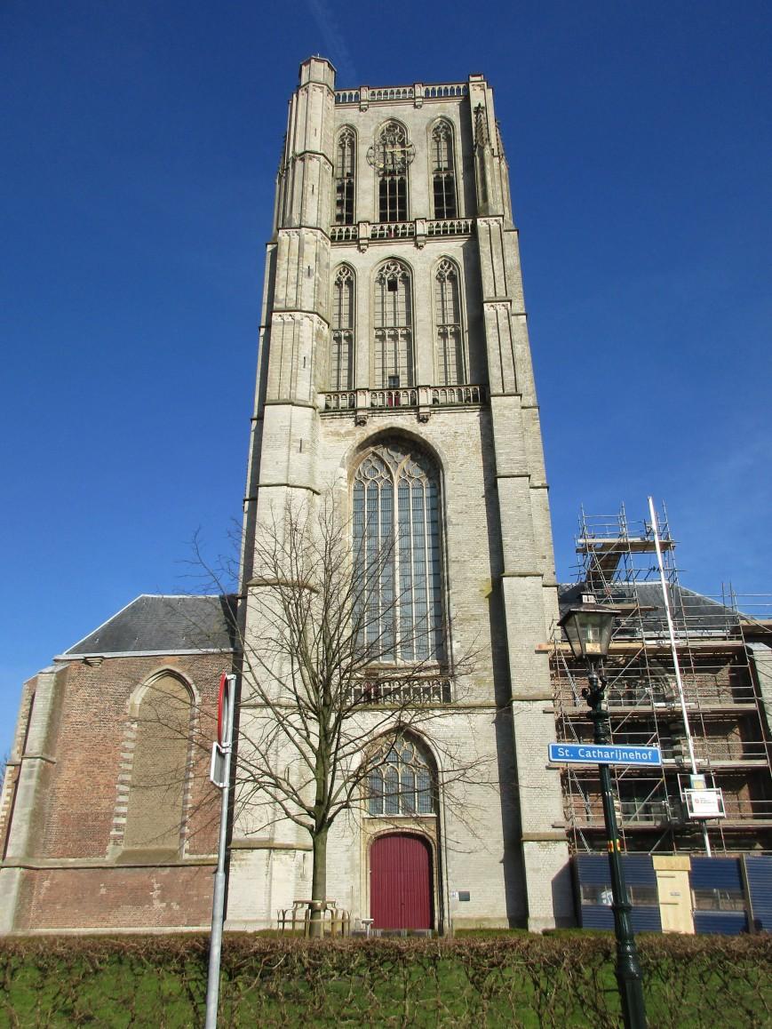 Sint-Catharijnekerk, vooraanzicht.
