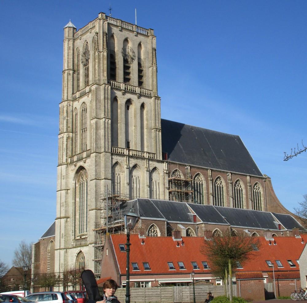 Sint-Catharijnekerk, zuidzijde.